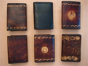 Trifold Leather Billfolds
