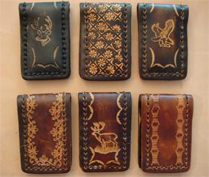 Leather Magnetic Money Clips