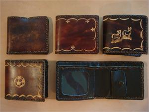 Kid's Leather Billfolds