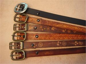 "3/4"" Leather Belts"