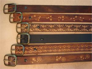 "1"" Leather Belts"