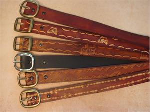 "1-1/4"" Leather Belts"