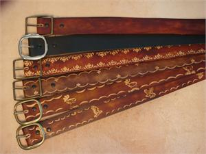 "1-1/2"" Leather Belts"