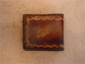 Kid's Leather Billfolds-Animals
